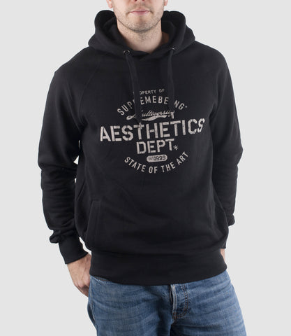 Aesthetics Organic Cotton Hoodie Black