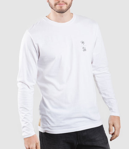 Core One LS T-Shirt White