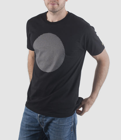 Geomet Disc T-Shirt Black