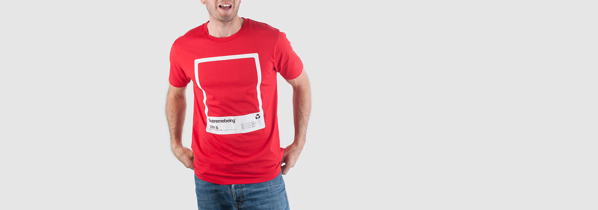 CMYK Swatch T-Shirt Red