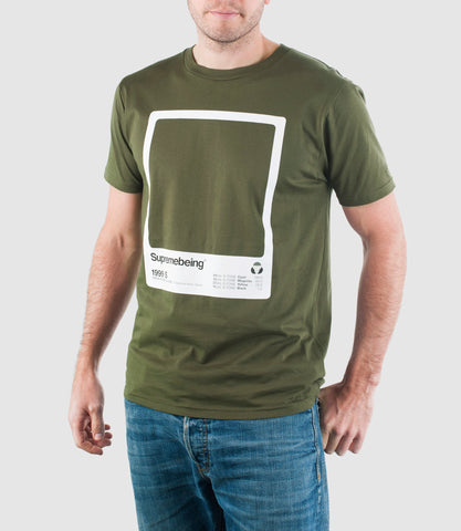 CMYK Swatch T-Shirt Moss Green