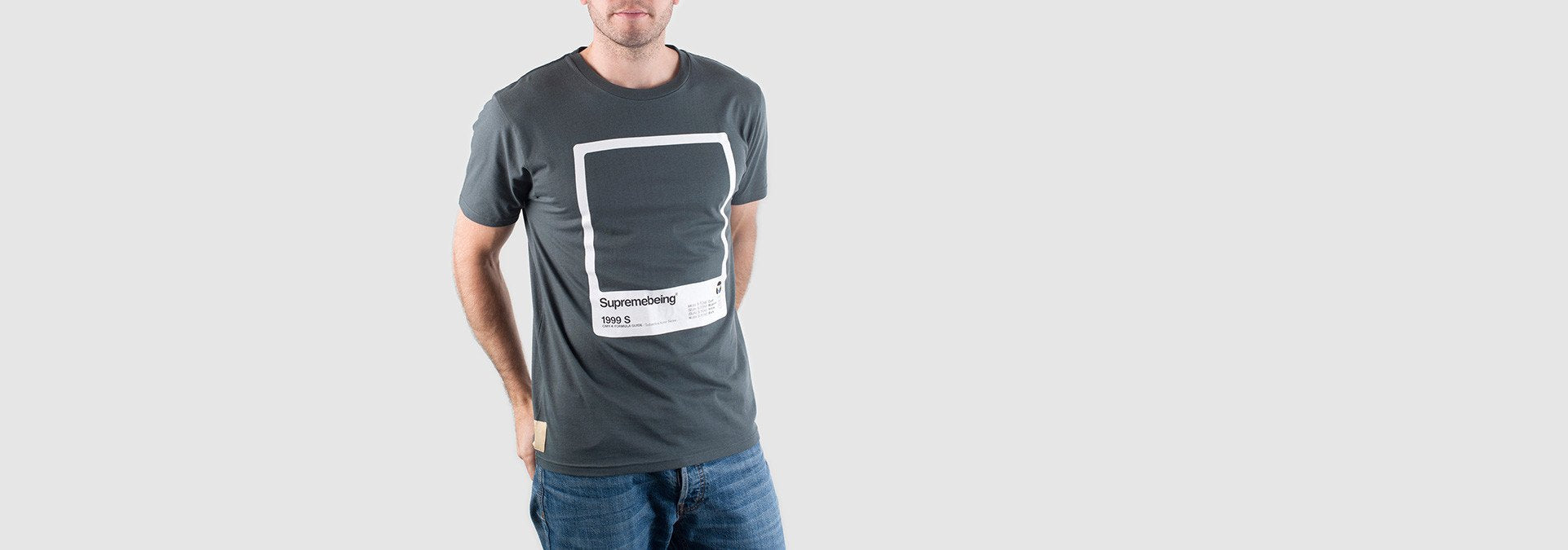 CMYK Swatch T-Shirt Grey