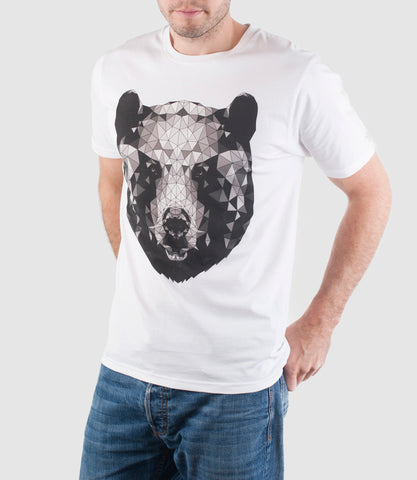 Mono Bear T-Shirt White