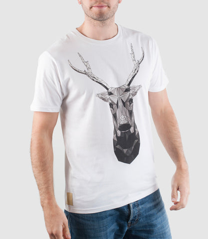 Mono Buck Organic Cotton T-Shirt White