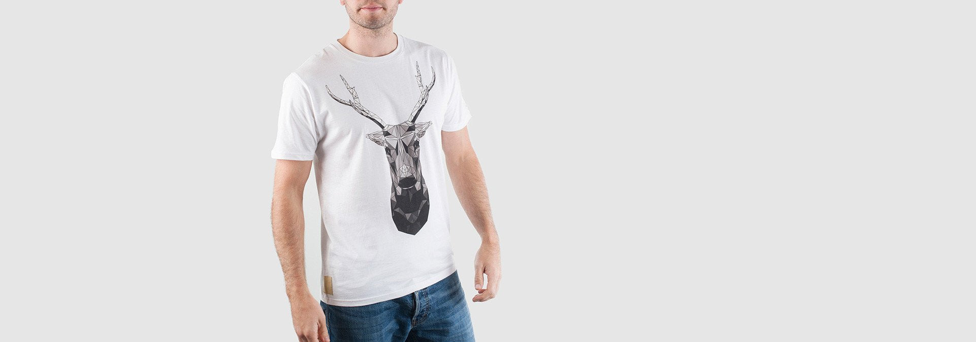 Mono Buck T-Shirt White