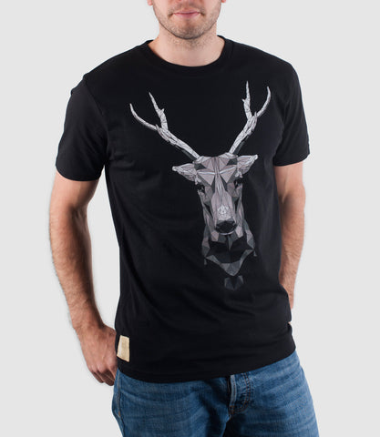 Mono Buck T-Shirt Black