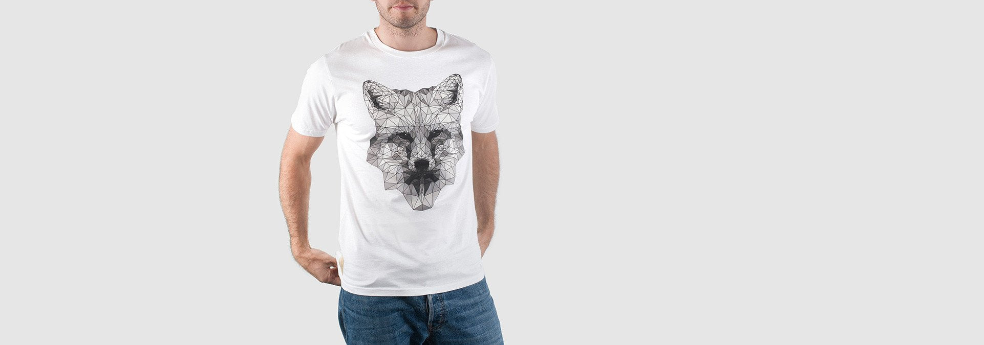 Mono Fox T-Shirt White