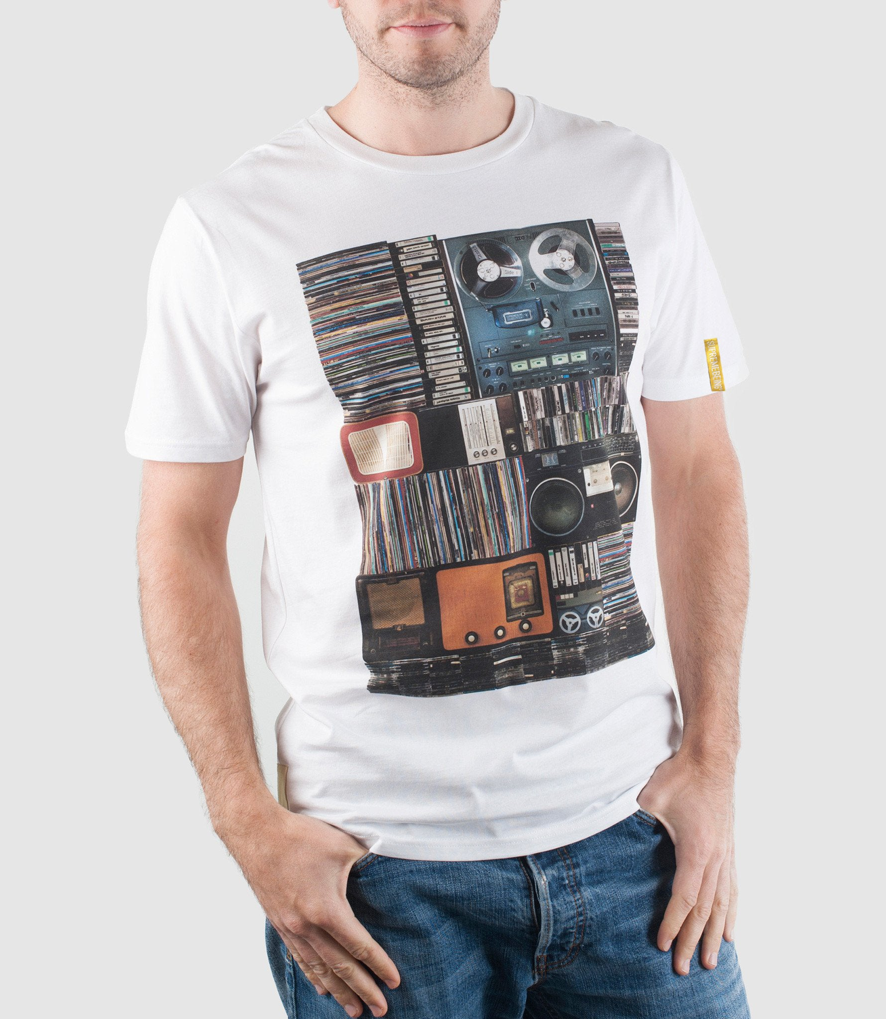 Hoarder Organic Cotton T-Shirt White