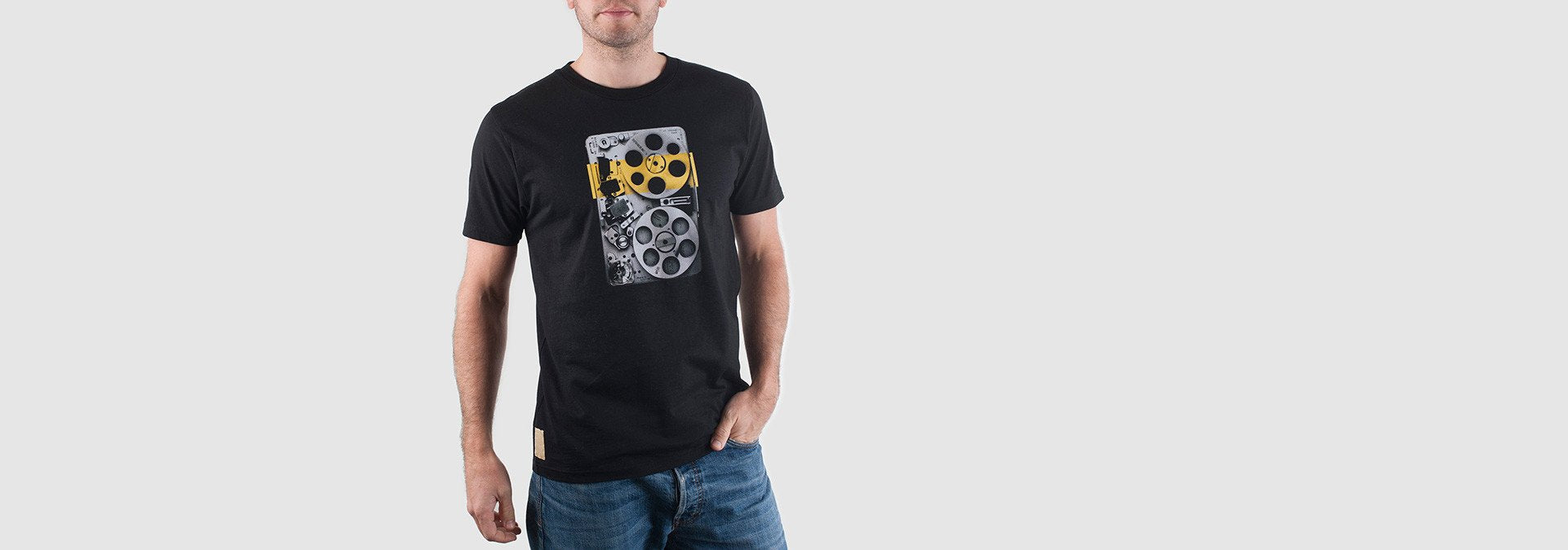 Loop Organic Cotton T-Shirt Black