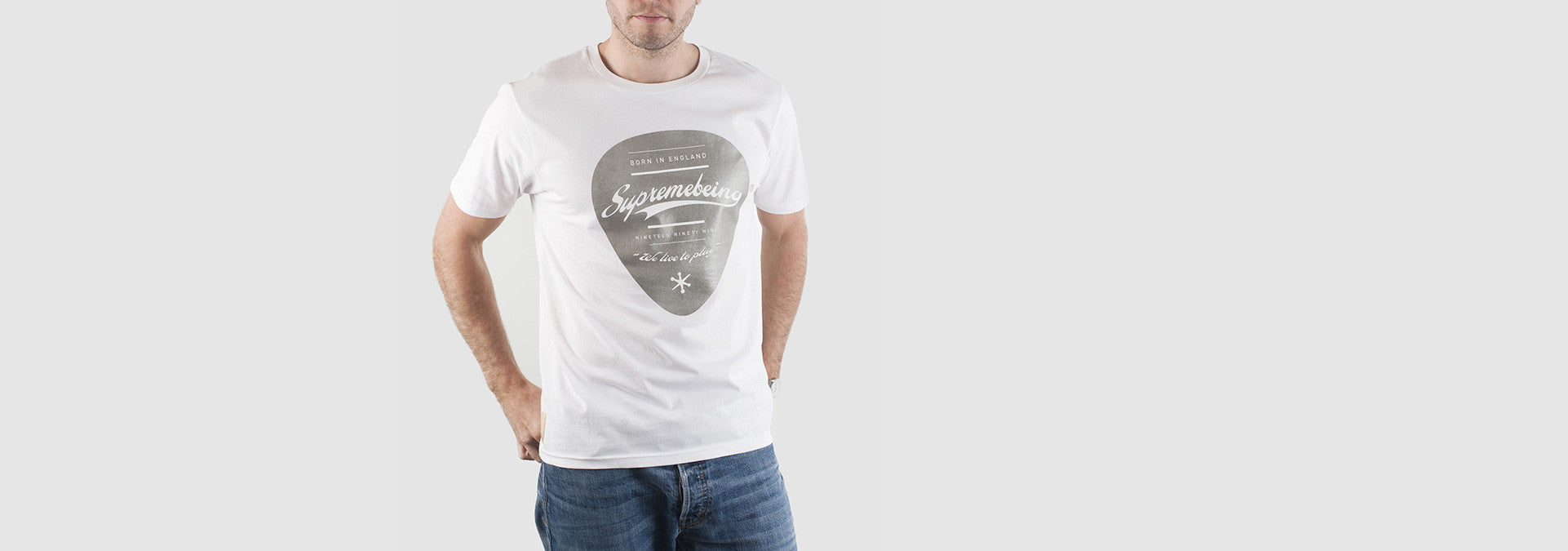 Plectrum T-Shirt White