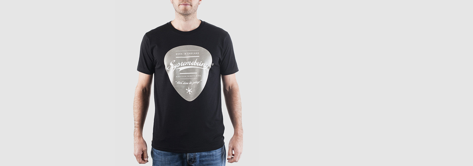 Plectrum T-Shirt Black