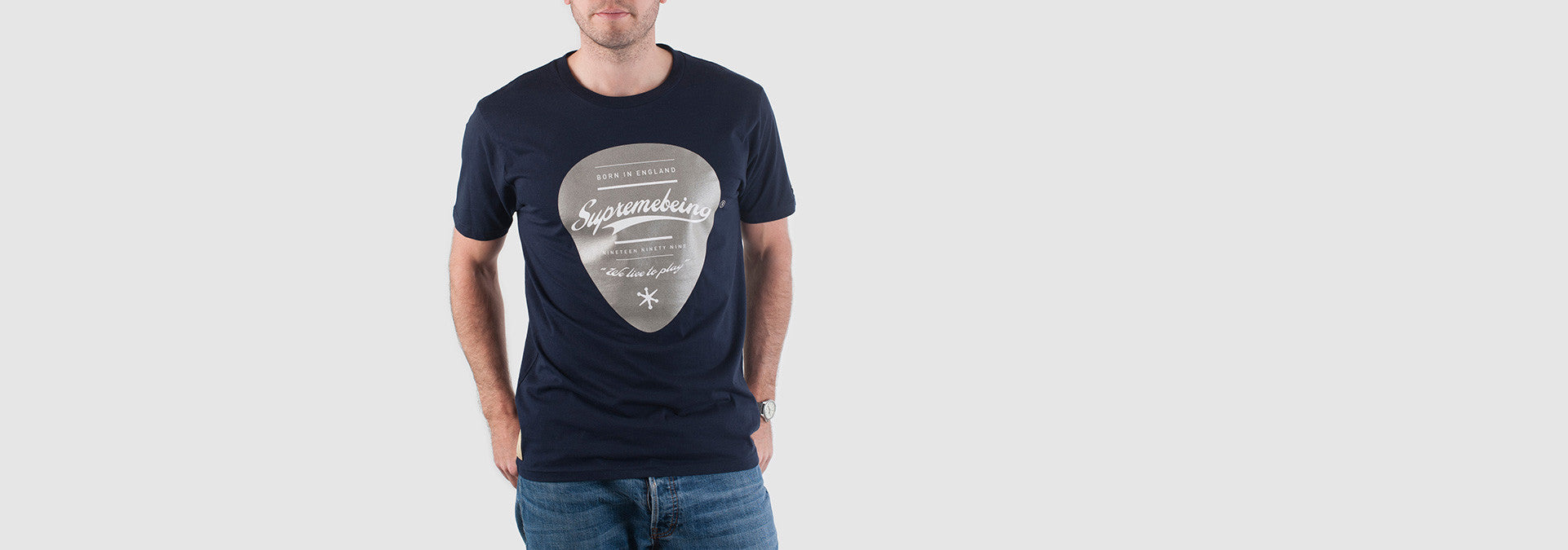 Plectrum T-Shirt Navy