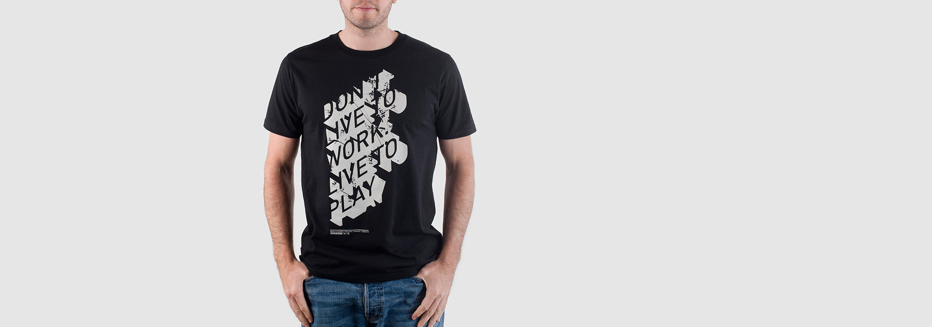 Don't Work T-Shirt Black