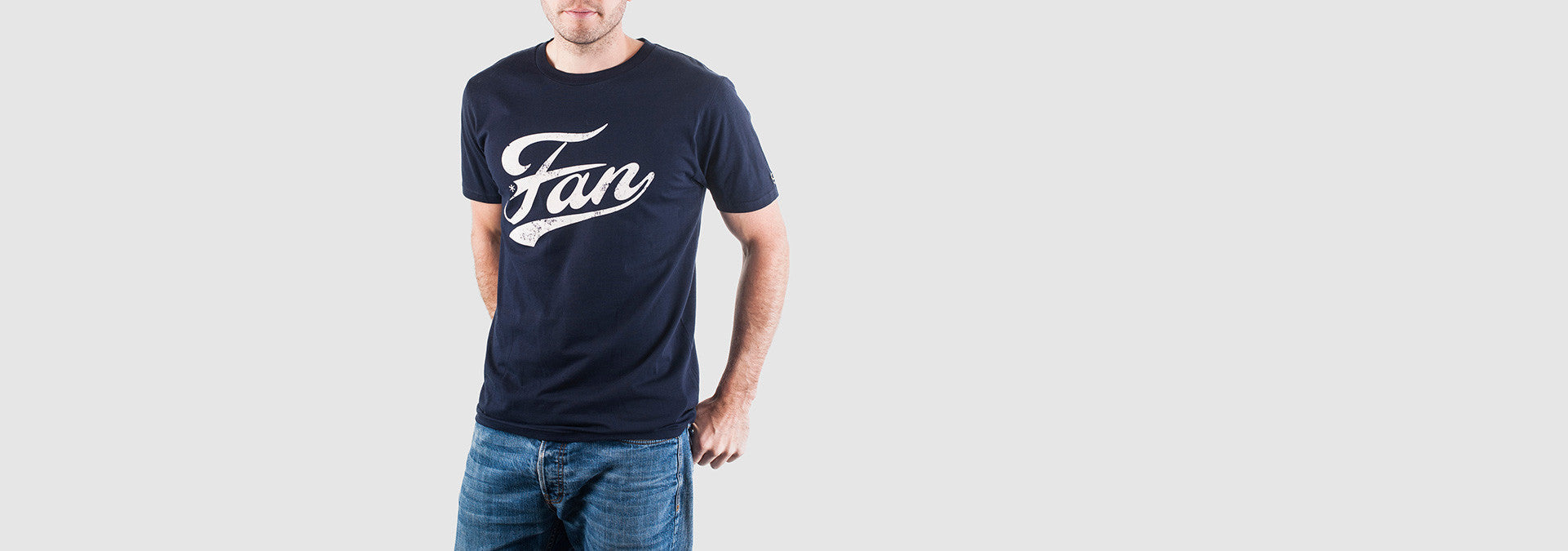 Fan T-Shirt Vintage Navy