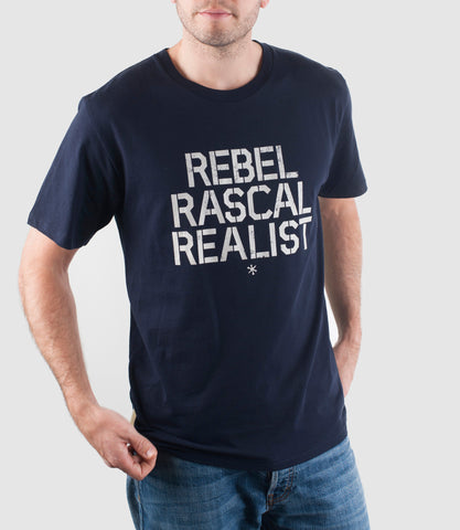 Rebel T-Shirt Navy