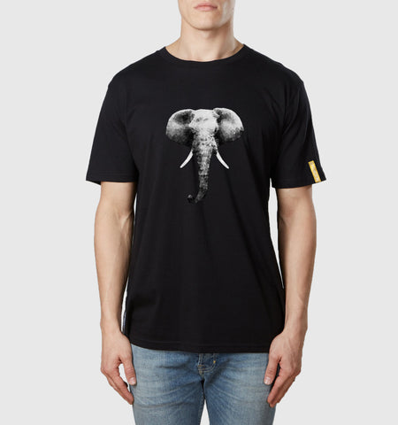 Elephant T-Shirt Black