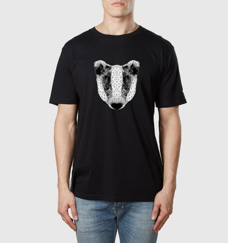Badger T-Shirt Black
