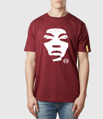 Iconoclast Organic Cotton T-Shirt Burgundy