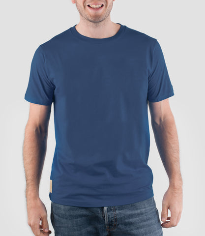 Core Zero T-Shirt Denim Blue
