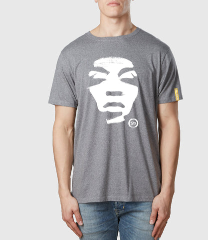 Iconoclast Organic Cotton T-Shirt Melange Grey