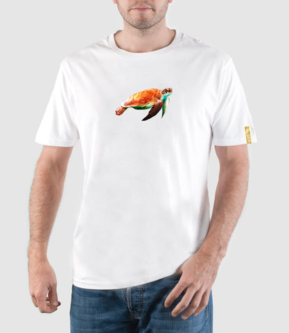 Sea Turtle T-Shirt White