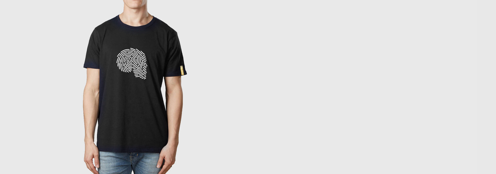Single Thumb T-Shirt Black
