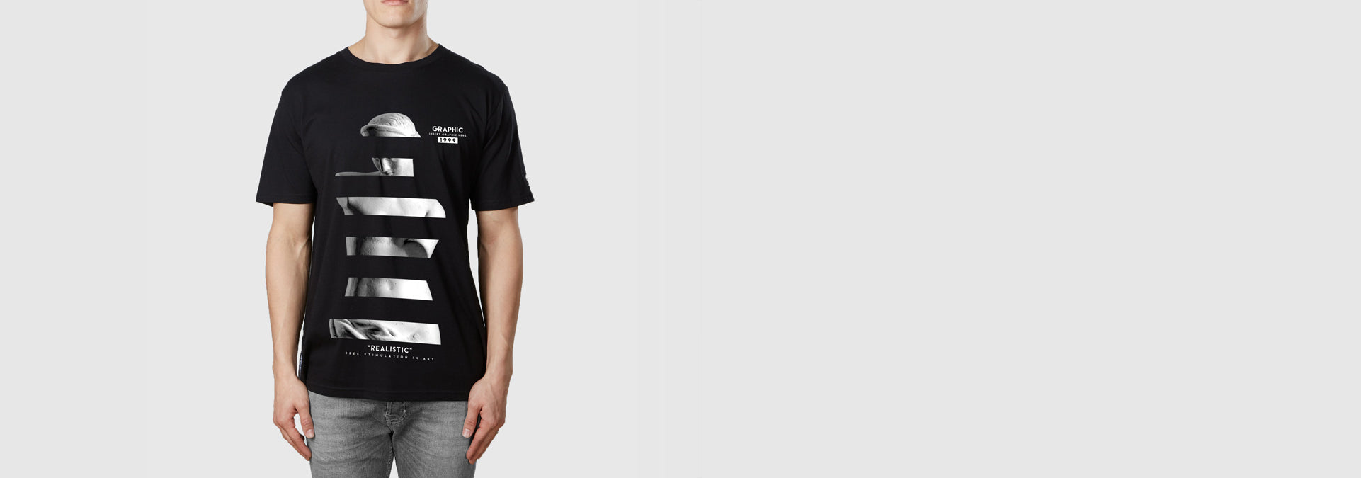 Realistic T-Shirt Black