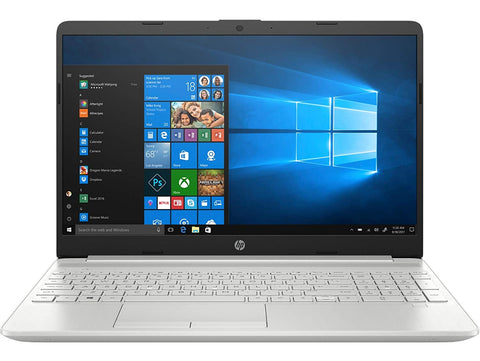 HP 10th Gen Intel Core i3 15.6-inch Laptop (i3-1005G1/4GB/512GB SSD/Windows 10 Home/MS Office/Natural Silver/1.77kg), 15s fr1004tu