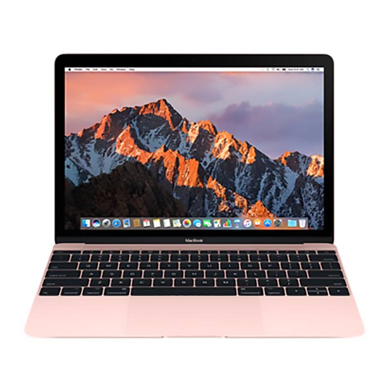 APPLE MACBOOK MNYM2HN/A 30.48CM MACOS SIERRA (INTEL CORE M3, 8GB, 256GB SSD)(ROSE GOLD) - Techstore