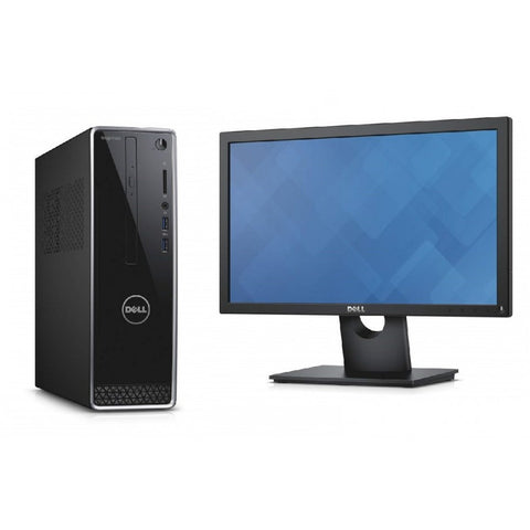 Dell Inspiron 3252 (Pentium Processor - J3710) 4GB RAM - 1TB HDD - 19.5-inch Slim - Win 10 SL - Tower Desktop - Techstore