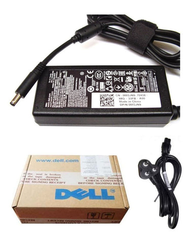 Dell Original Laptop Adapter Charger 65W 19.5V 3.34A (New Pin 4.5*3.0Mm) Mgjn9 - Techstore