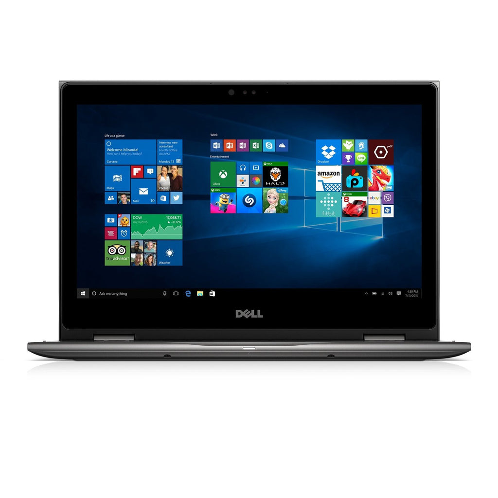 "Dell i5368-6452GRY 13.3"" FHD 2-in-1 Laptop (Intel Core i5-6200U 2.3GHz Processor, 8 GB RAM, 1 TB HDD, Windows 10) - Techstore"