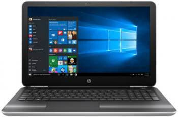 HP Pavilion 15-au114tx Notebook 7th Gen Intel Core i5- 8GB RAM- 1TB HDD- 15.6- Windows 10- 4GB Graphics- Silver