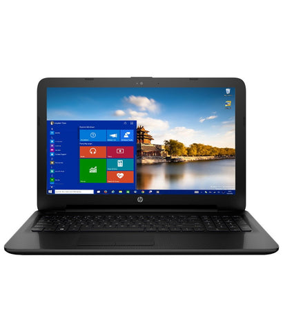 "HP 15-AY015TU/ Jack Black Laptop(Latest / PQC N3710 / 4 GB / 500 GB / INT / W 10 / Island KBD with N'pad / 15.6"" HD)"