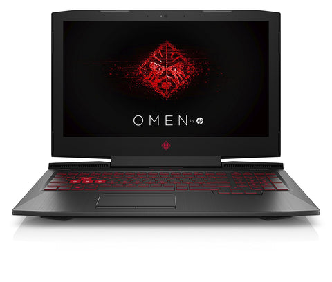 HP Omen 15-ce074TX 2017 15.6-inch Laptop (7th Gen Core i7-7700HQ/16GB/1.12TB/Windows 10 Home/6GB Graphics), Shadow Black - Techstore