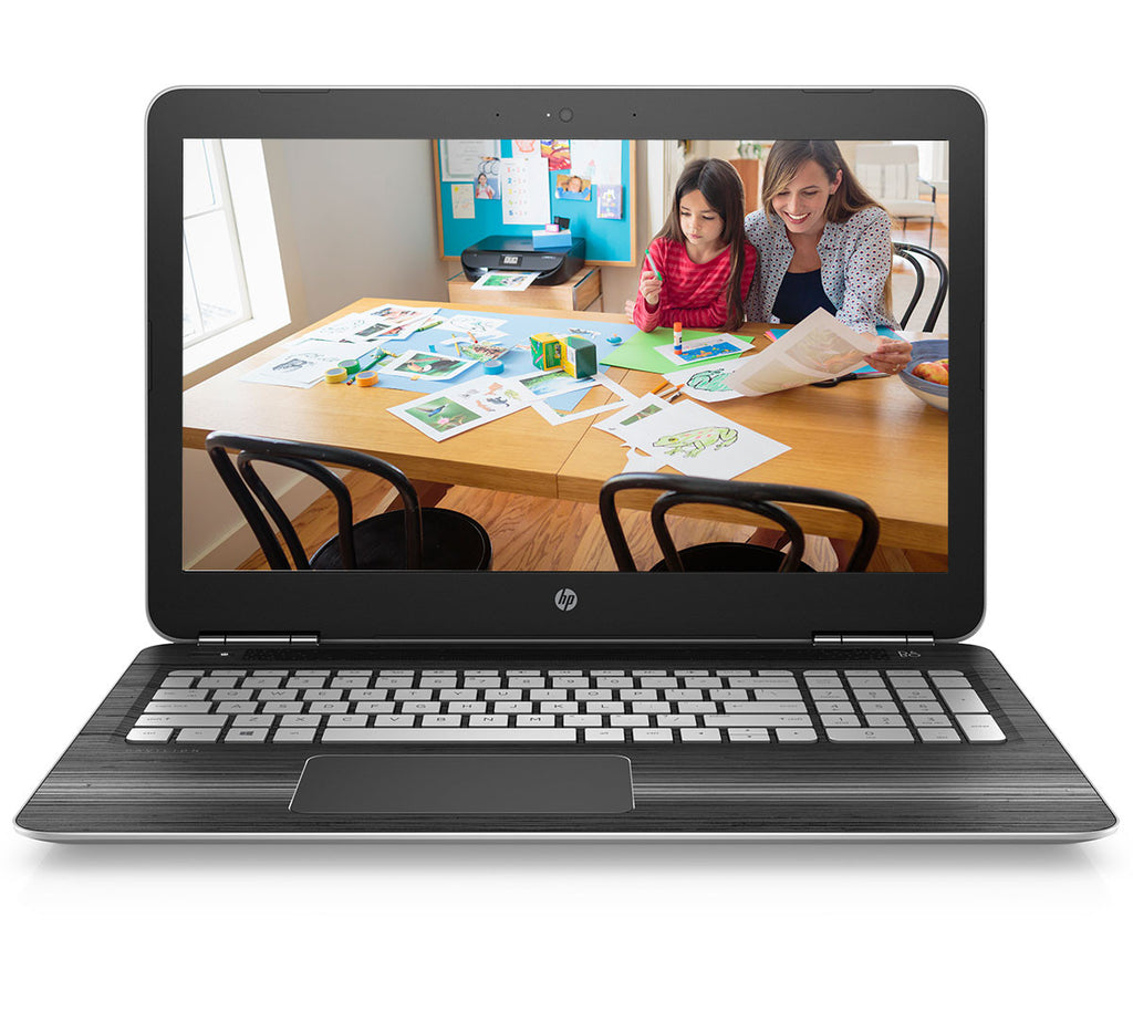 "HP Pavilion 15-AU628TX (7th Gen/ i7-7500U/ 8 GB DDR4 RAM / 1TB HDD / 4GB Nvidia 940MX Graphics / Windows 10 / Backlit KBD with N'pad / 15.6"" Full HD / MS Office H & S 2016)"