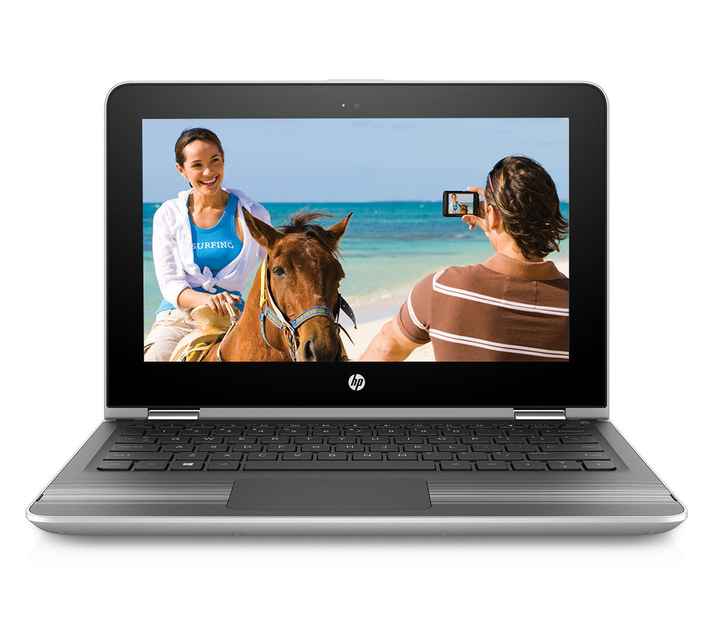 "HP Pavilion 11-U107TU X360 (7th Gen / i3-7100U / 4GB RAM / 1TB HDD / 11.6""HD / Windows 10 / Island KBD / 11.6"" Capacitive Touch screen/ MS Office H & S 2016)"