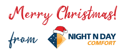 Merry Christmas from NIGHT N DAY Comfort