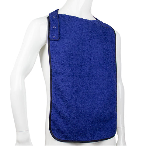 Waterproof and Absorbent Clothing Protector, Bib