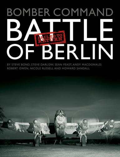 Battle of Berlin Failed to Return cover