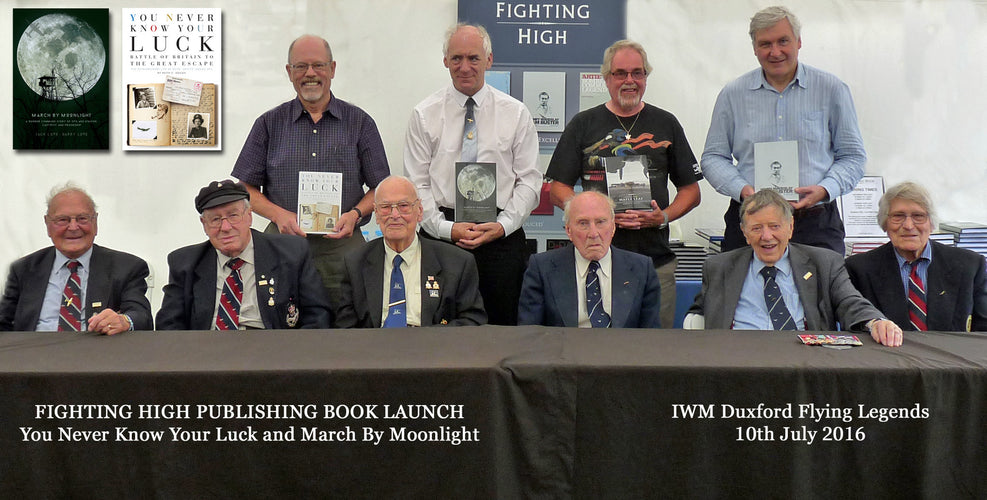 Flying Legends 2016 Book Launch