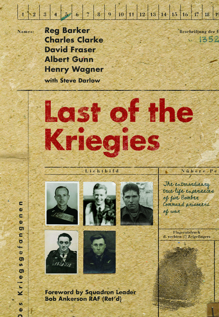 Last of the Kriegies (author and veteran signed)