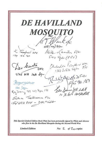 Sticky Murphy - Lover of Life (with Mosquito veteran signed bookplate)