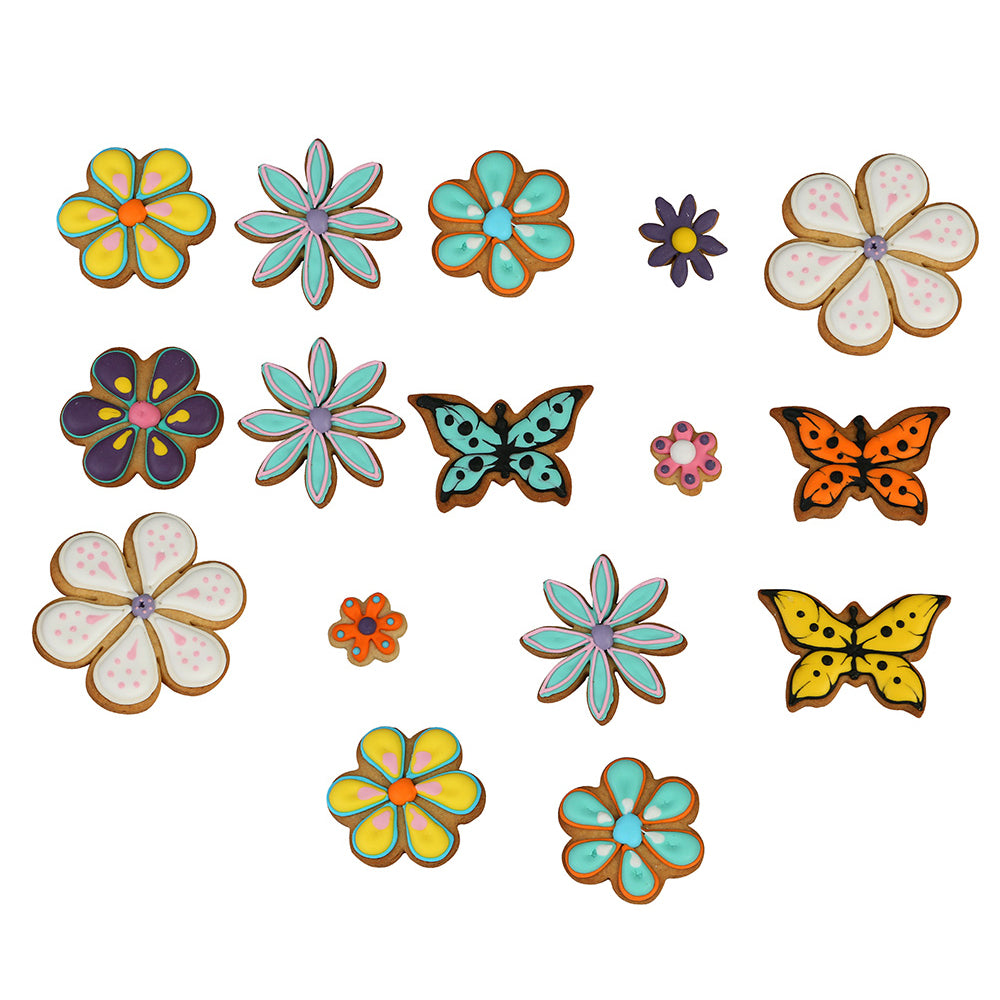 Flowers & Butterflies Collection