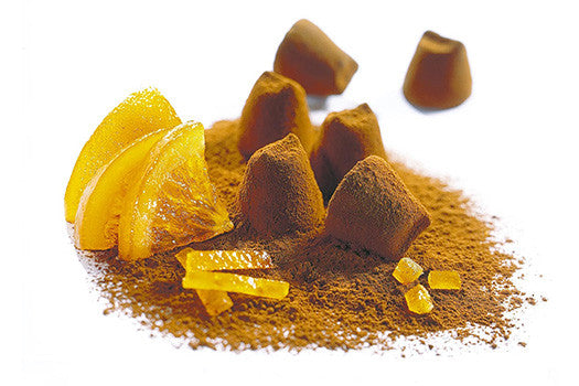 Candied Orange Peel Flavour Truffles - 200g