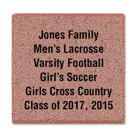 "8"" x 8"" Commemorative Brick"
