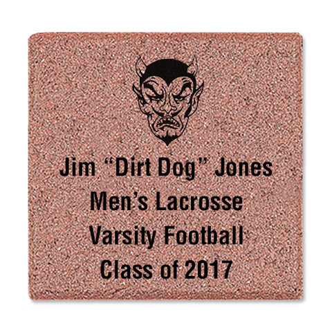 "8"" x 8"" Commemorative Logo Brick"