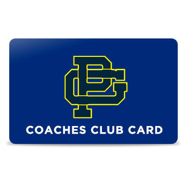 Coaches Club Membership Card