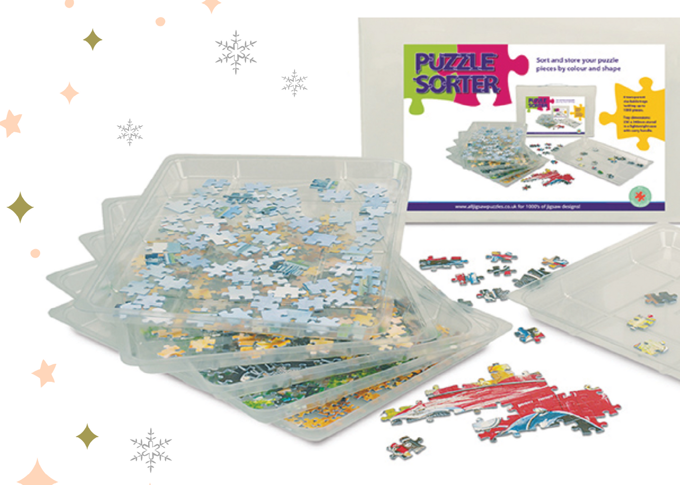 jigsaw puzzle accessories for Christmas