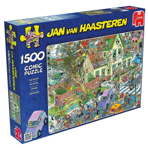 Jan van Haasteren The Storm 1500 piece Jigsaw Puzzle